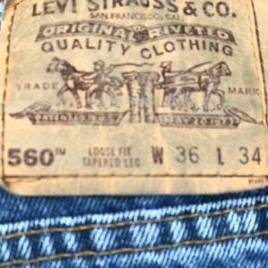 Levi's Jeans - 36x34 LEVI'S 560